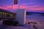 Atardecer en el Aeropuerto de carrasco