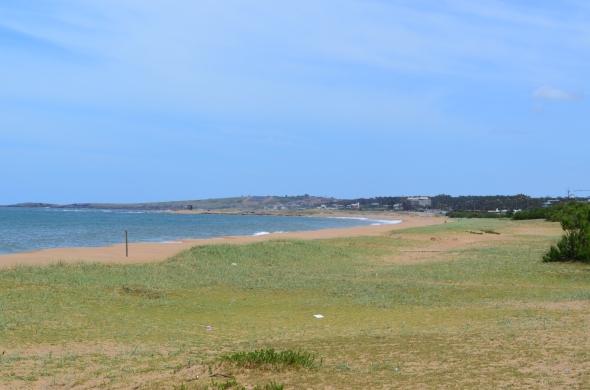 Playa mansa en Punta del Este