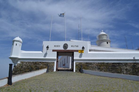 Entrada al museo del Cerro de la Fortaleza