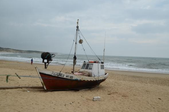 Pueblo pesquero