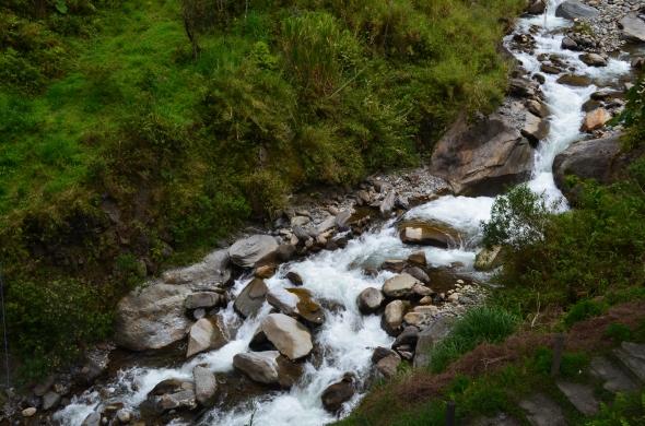 Río Verde, Baños, Ecuador