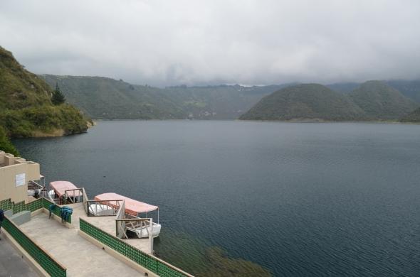 Otra vista de la laguna