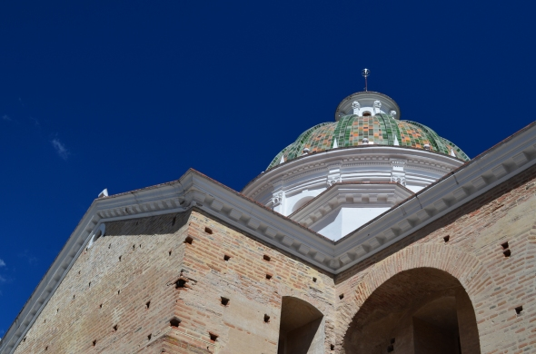 cúpula de la Iglesia Nuestra Señora de Guápulo
